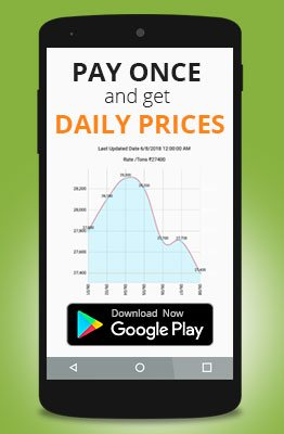 Indian Scrap Prices Mobile Application