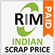 Indian Scrap Prices Paid