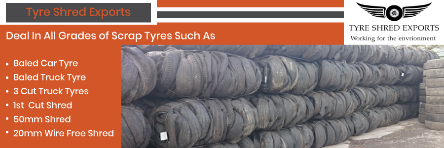 Tyre Shred Exports