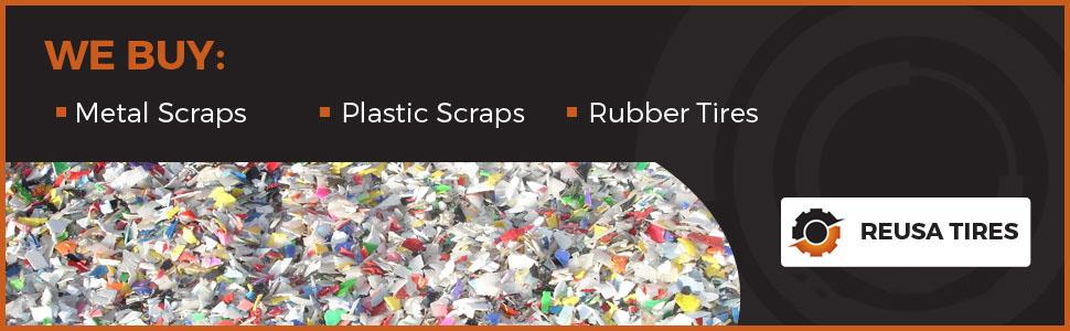 Looking to Buy HDPE Film Scrap and LDPE Film Scrap, Reusa Tires, El