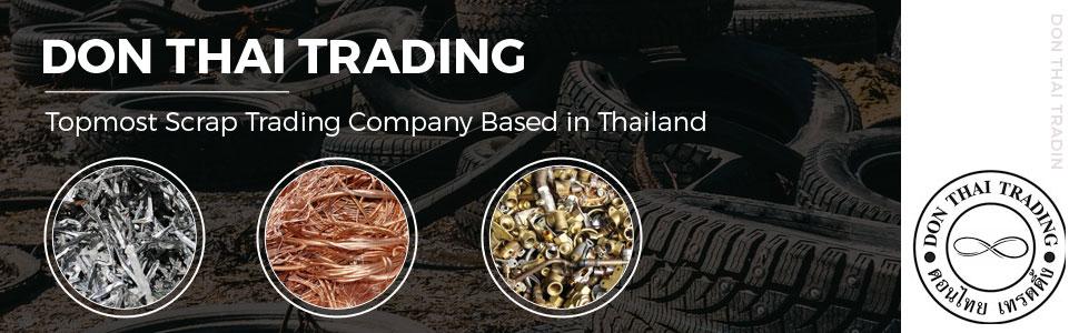 Aluminum engine scrap, Don Thai Trading, Pathum Thani