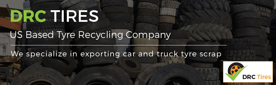 10 40ft Containers per Month - Car Scrap Tires and Truck Scrap Tires