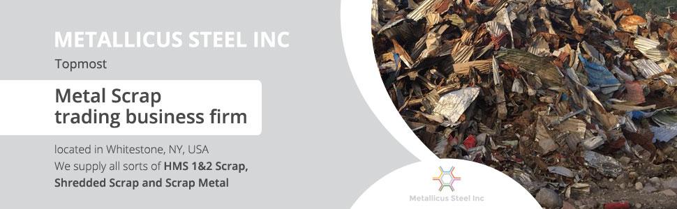 Metallicus Steel Inc  Whitestone | Scrap Buyers