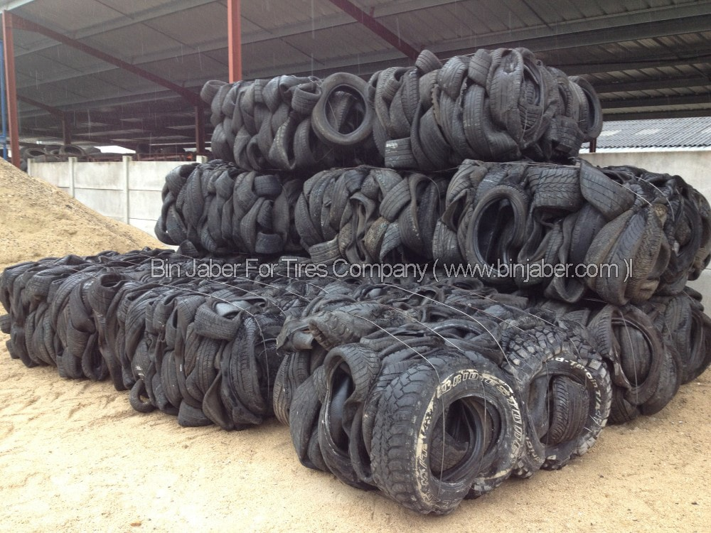 Scrap Tyres (Pressed and Baled) for Sale – Scrap Buyers Contact Us