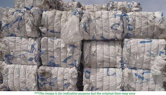 40MT of HDPE Jerrycan scrap for sale