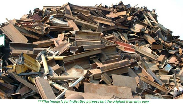 800 MT of HMS 1 Scrap Available for sale