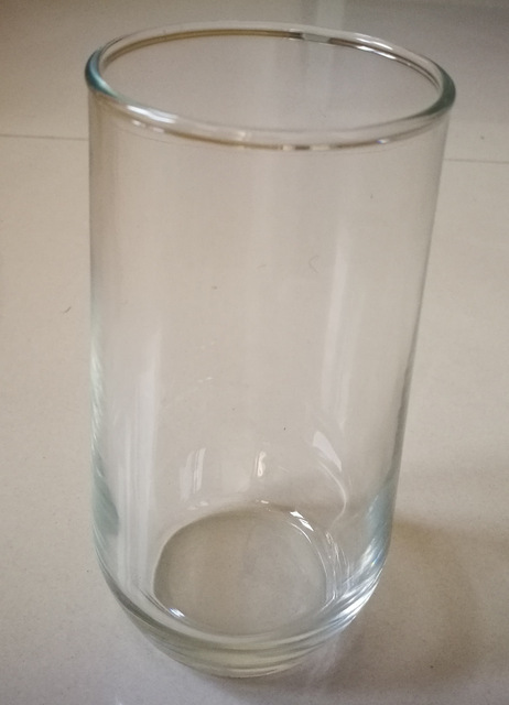 Sale: New Glass Tumblers at an attractive price