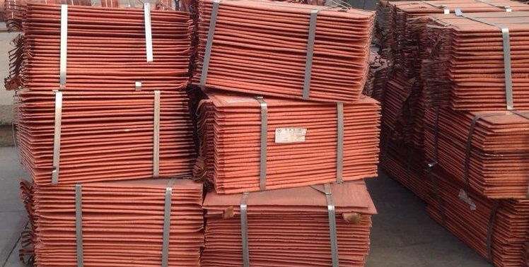 HIGH Quality Copper cathodes 99.99%