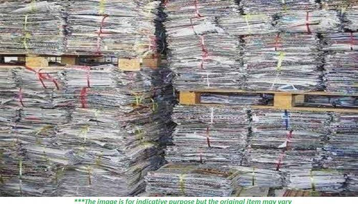 Immediate sale of 250MT Waste Paper scrap