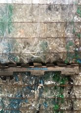 PET Bottles scrap with Cap Bundles 250MT for sale