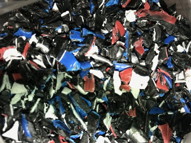 80,000 lbs PEX Mix Color Regrind for sale