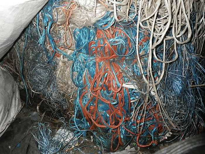 7000 MT of PP Ropes Scrap and PP Rolls Scrap for Sale