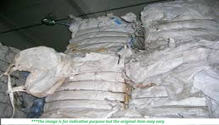 60 MT/month - PP Big Bags Scrap for Sale