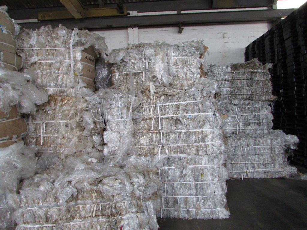 100MT BALED CLEAR LDPE FILM AVAILABLE FOR SALE