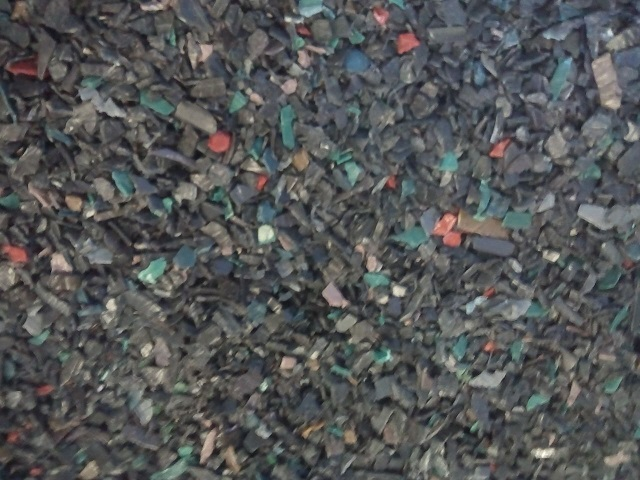 For sale: 40MT HDPE post-industrial injection mix color regrind