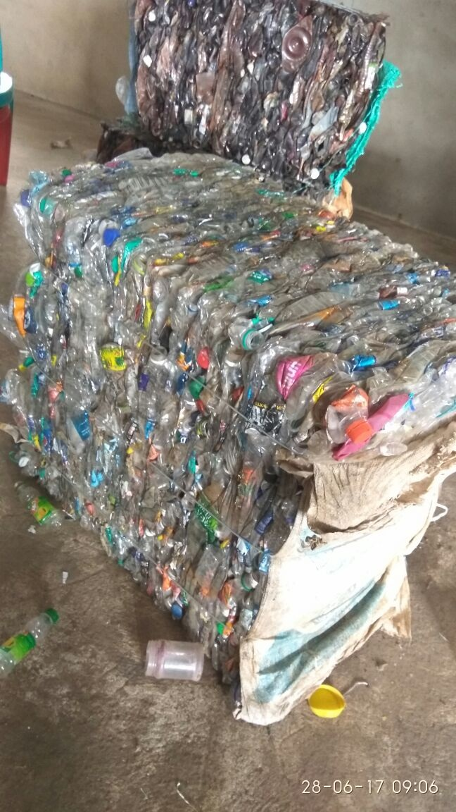30 MT per Month Baled PET Bottles Scrap for Sale