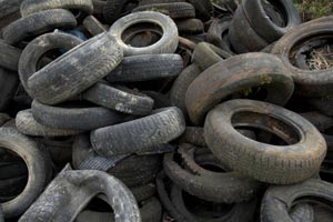 Tire Scrap for Sale - 2 Containers per Month