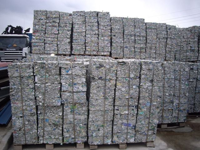 Supplying Aluminum Can Scrap - 25MT Per Month