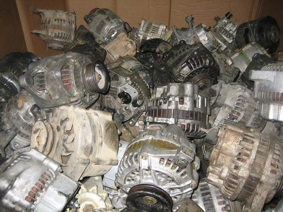 Supplying 25Tons monthly - Used Alternator Scrap