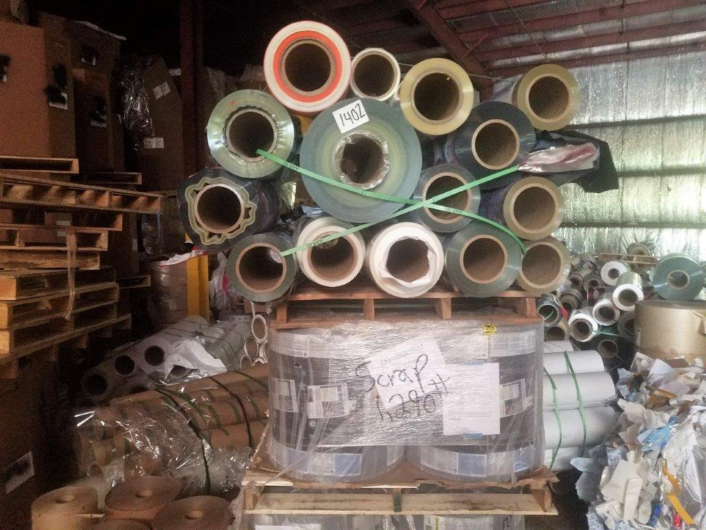 For sale : 160,000 lbs PET/BOPP/LDPE Mixed Rolls