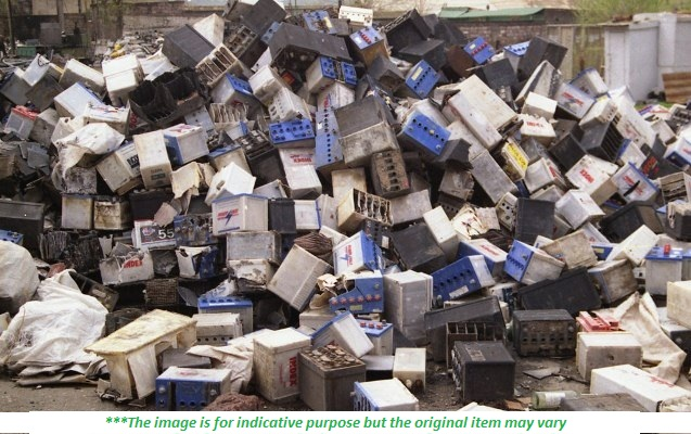 Wet Batteries Scrap - 500 MT per Month for Sale