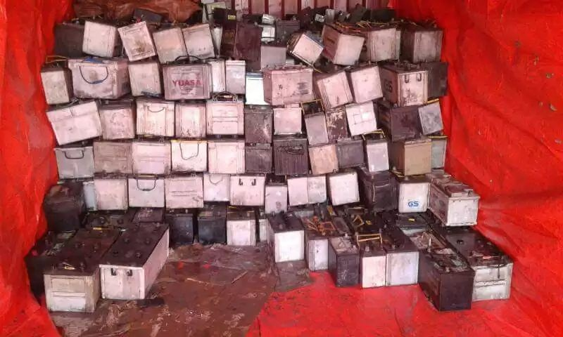 Regular supply of 200MT Battery scrap
