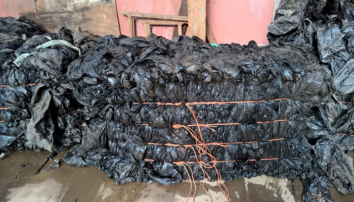 60 Tonnes of Sorted Black LDPE Film for Sale