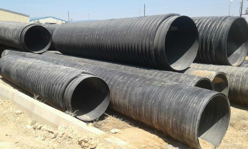 For Sale : 75MT Corrugated HDPE PIPE Scrap