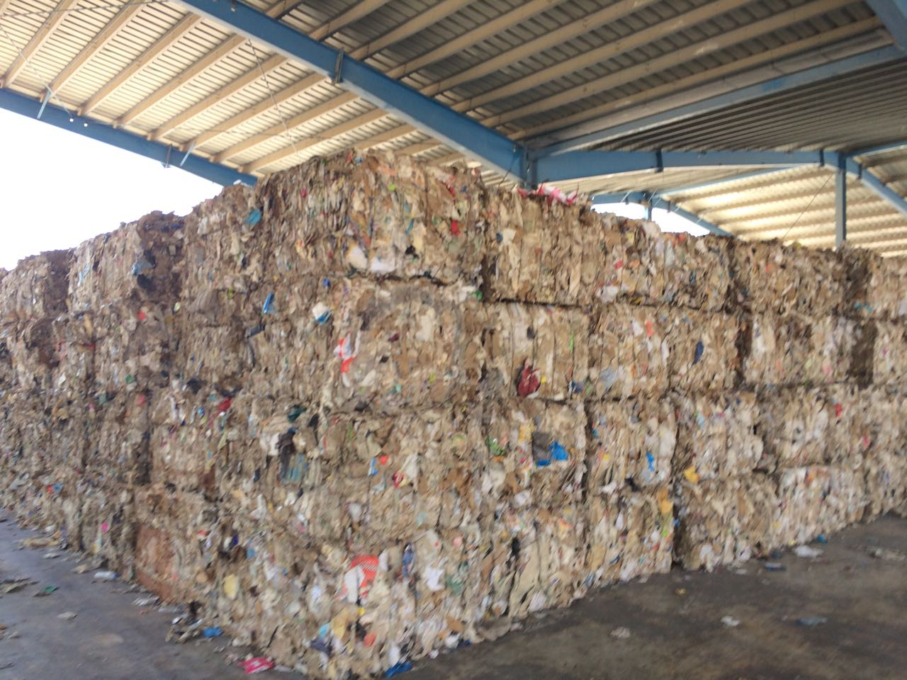 For Sale: Huge Quantity Low Grade Paper Scrap
