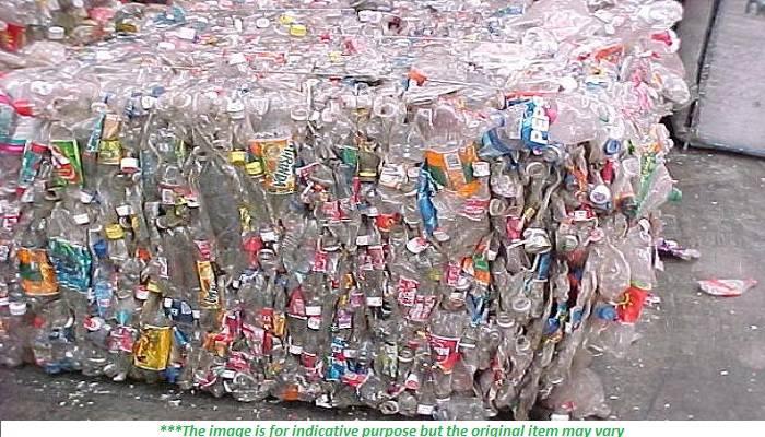 100 Tons Monthly Baled PET Bottles Scrap for Sale, SST
