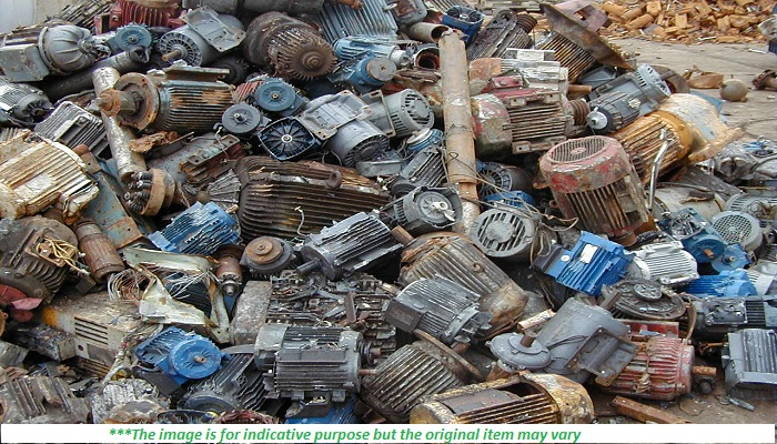 Regular supply of 50MT Electric Motor scrap
