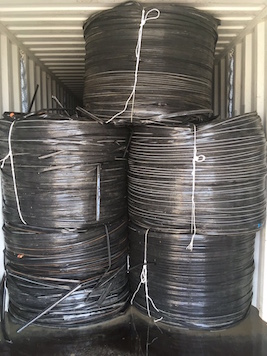 Exporting LDPE Drip Tapes in Rolls on Regular Basis