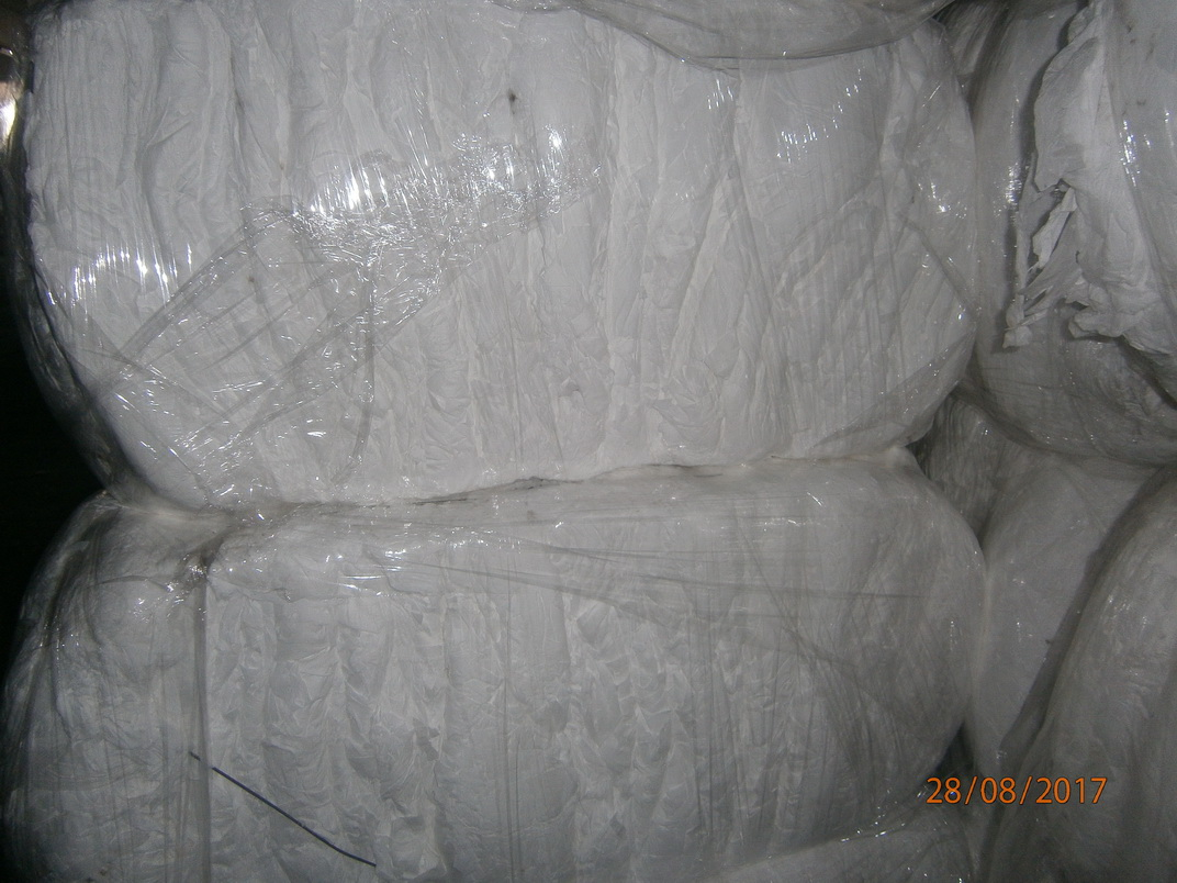 For Sale: PP/PE DIAPER WHITE OFFCUTS 45 MT/Month