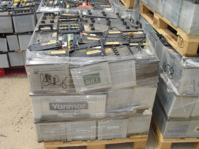 50MT of Drained Lead-Acid Battery Scrap for Sale!