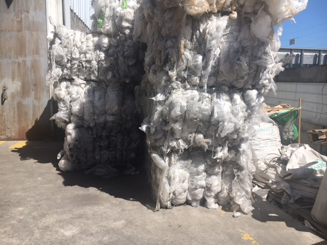 Huge Tons of LLDPE Stretch Film Scrap for Sale @ $370/Ton!