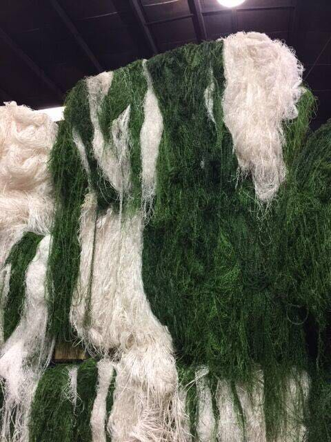 Best Offer: 100MT LLDPE Artificial Turf Waste Scrap for Sale!