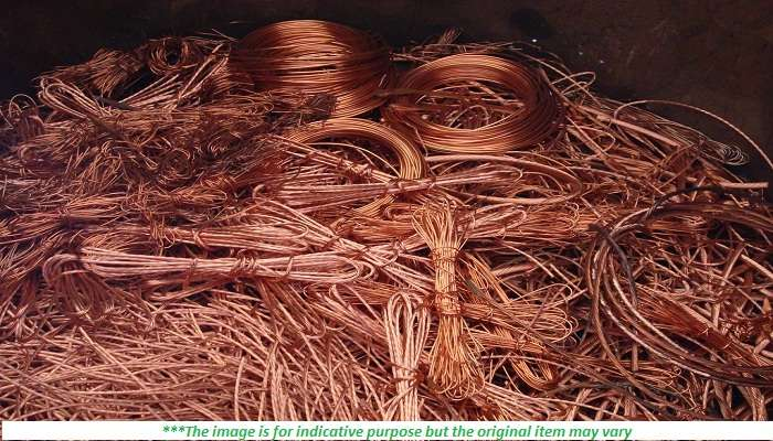 200 MT of Copper Scrap for Sale