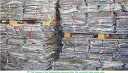 5000 MT paper Scrap for Sale!