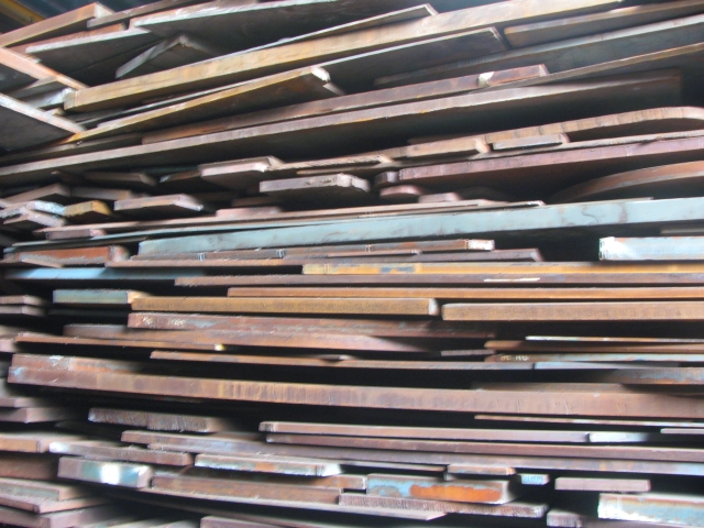5000 MT of MS Plates Scrap for Sale