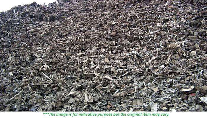 1000 MT Shredded Scrap for Sale