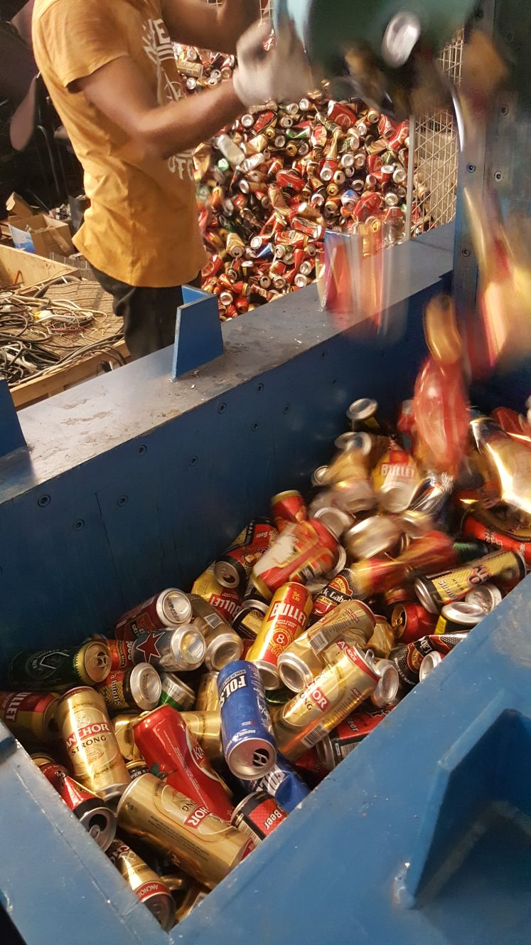Aluminum UBC Scrap 500 MT for Sale