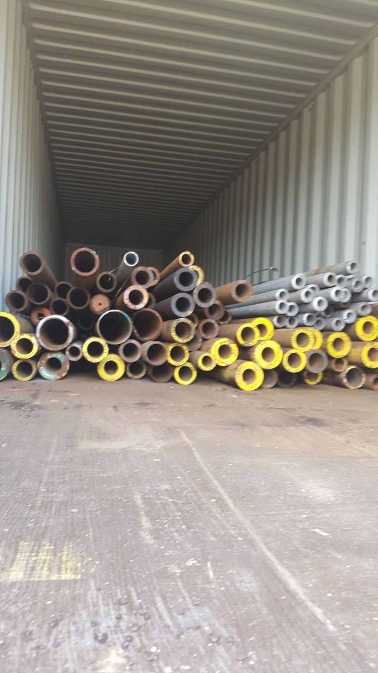Looking to supply Seamless Pipes Scrap 500 Tons per Month