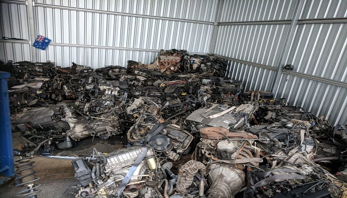 500 MT Scrap Car Complete Engines for Sale