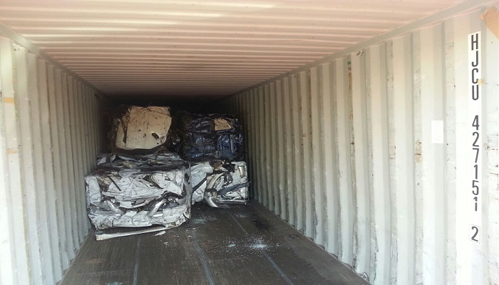 Baled Car Scrap 500 MT for Sale