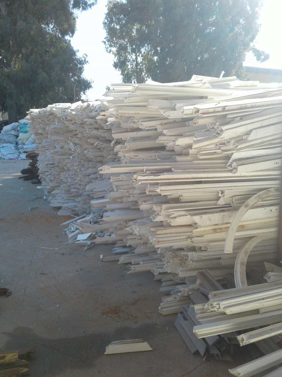 For Sale: Rigid PVC Window and Door Profile Scrap 500MT/Month