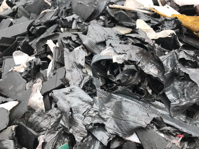 50MT of Polypropylene Battery Chips scrap available for sale