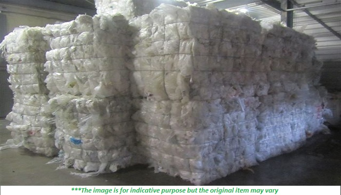 50MT of LLDPE Film Scrap for sale