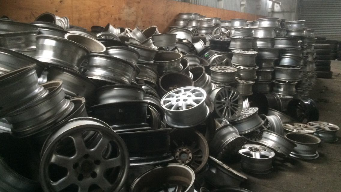 Aluminum Alloy Rims for Sale 50MT/Month