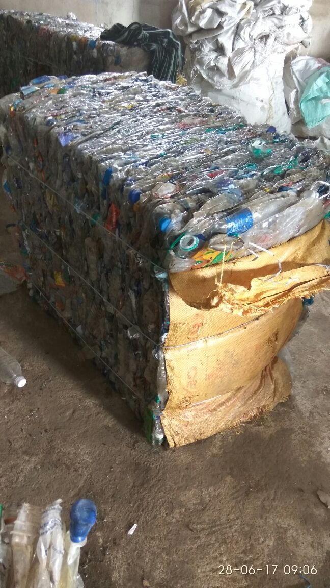 Baled PET Bottles Scrap for Sale 30MT per Month