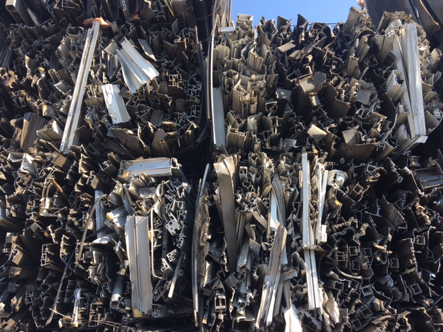 45MT Aluminium 6063 Thermal scrap available for sale